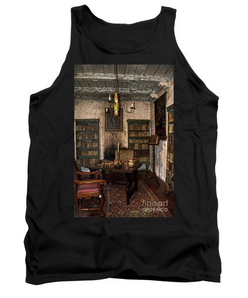 Junipero Serra Library In Carmel Mission Tank Top