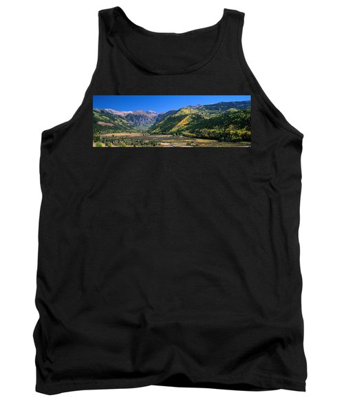 Landscape With Mountain Range Tank Top