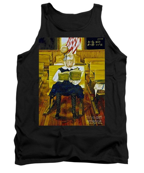 Lessons To Last A Lifetime Tank Top by Linda Simon