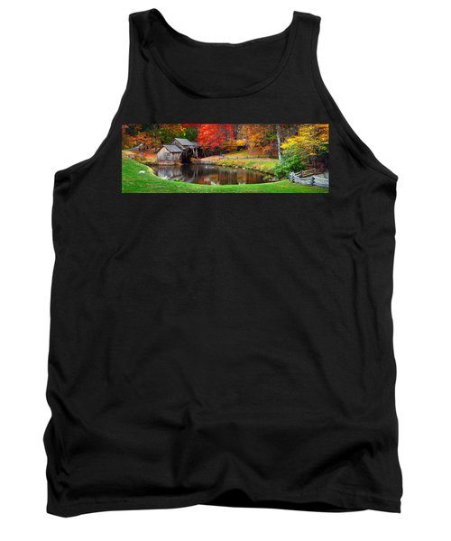 Mabry Mill Pano Tank Top