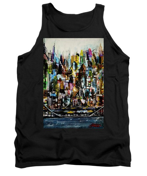 Manhattan Morning Tank Top