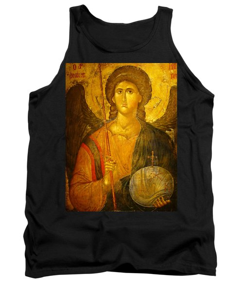 Michael The Archangel Tank Top