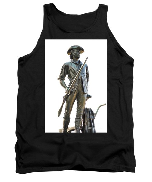 Minute Man Statue Concord Massachusetts Tank Top
