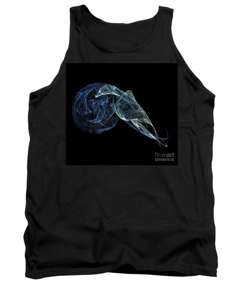 Tank Top featuring the digital art Moonlit Goose by Sara  Raber