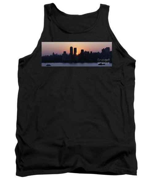 Tank Top featuring the photograph Morning On The Hudson by Lilliana Mendez