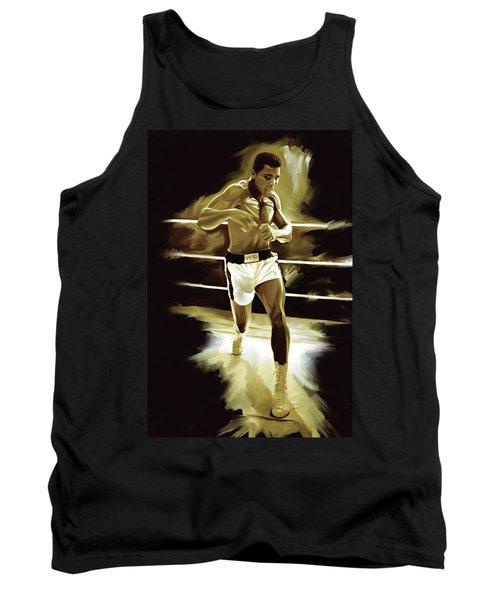 Muhammad Ali Boxing Artwork Tank Top