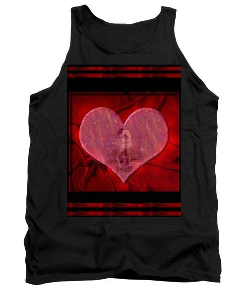My Hearts Desire Tank Top by Kurt Van Wagner