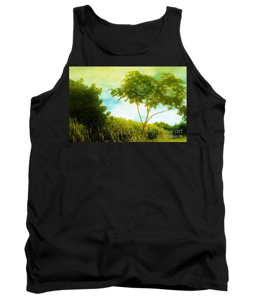 Ode To Monet Tank Top by Amar Sheow