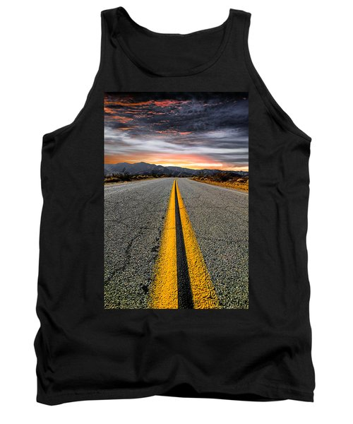 Tank Top featuring the photograph On Our Way  by Ryan Weddle