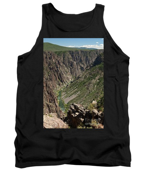 Pulpit Rock Overlook Black Canyon Of The Gunnison Tank Top