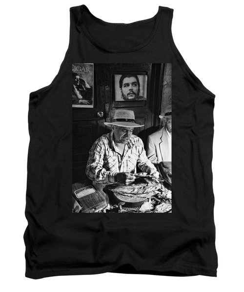 Rolling Cuban Cigars Tank Top by Hugh Smith