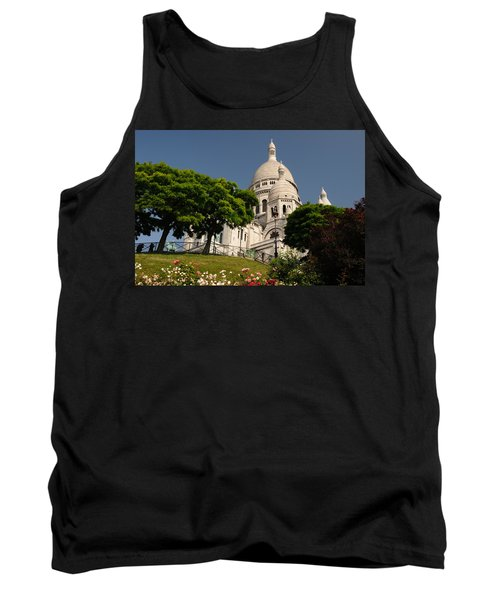 Tank Top featuring the photograph Sacre Coeur by Jeremy Voisey