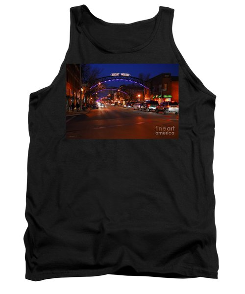 D8l-353 Short North Gallery Hop Photo Tank Top