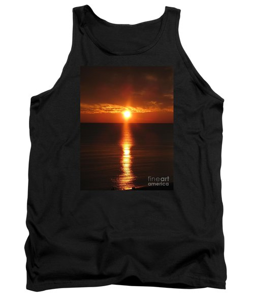 Sky On Fire Tank Top by Christiane Schulze Art And Photography