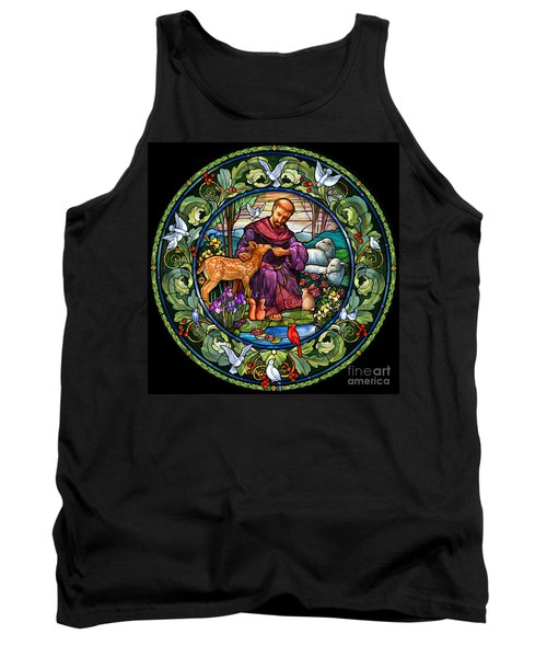 St. Francis Of Assisi Tank Top