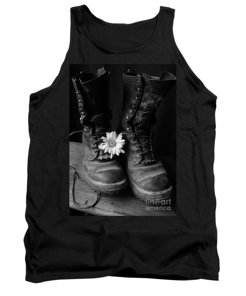 Sweat And Fire Worn Tank Top