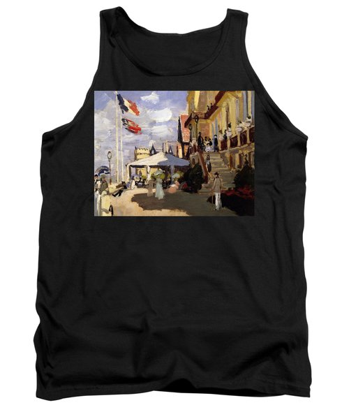 The Hotel Des Roches Noires At Trouville Tank Top