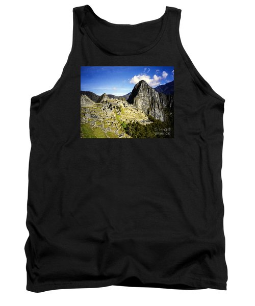 Tank Top featuring the photograph The Lost City by Suzanne Luft