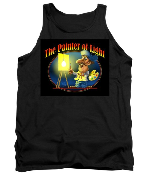 The Painter Of Light Tank Top