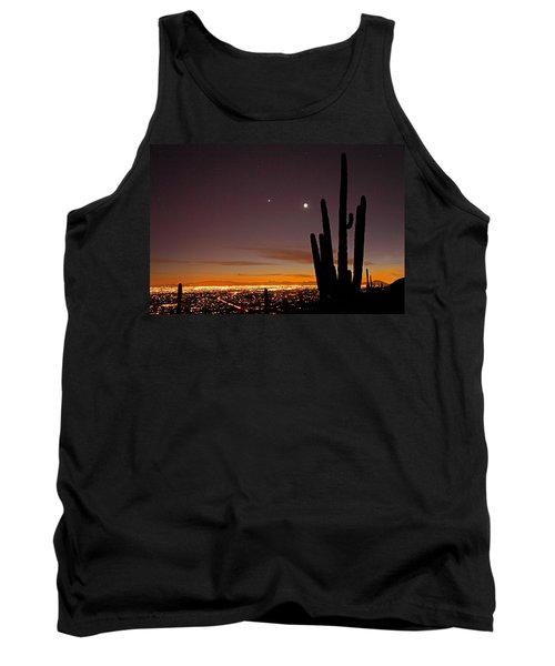 Tucson At Dusk Tank Top