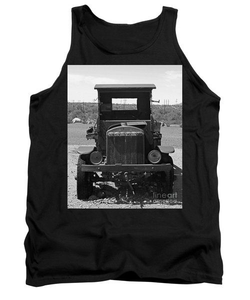 Vintage Stare Down Tank Top