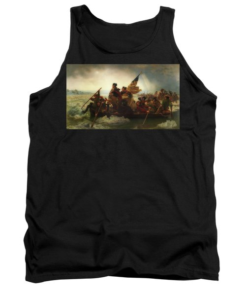 Washington Crossing The Delaware  Tank Top