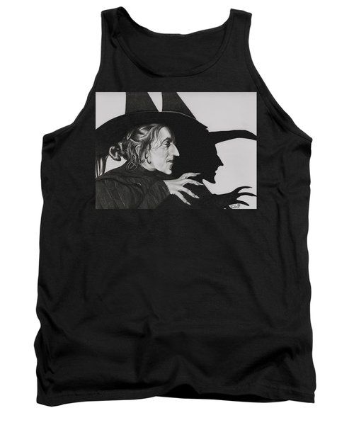 Wicked Witch Of The West Tank Top by Fred Larucci