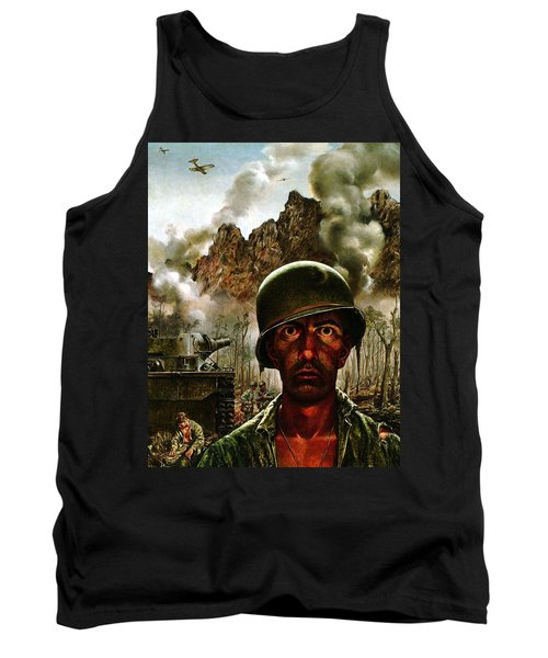 2000 Yard Stare Tank Top by Mountain Dreams
