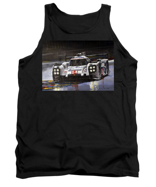 2014 Le Mans 24 Porsche 919 Hybrid  Tank Top
