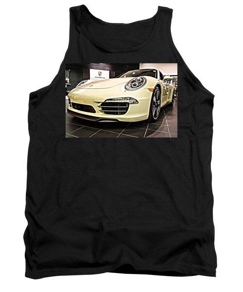 2014 Porsche 911 50th Front Tank Top