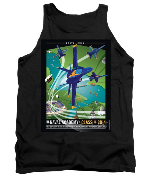 2014 Usna Commissioning Week Tank Top
