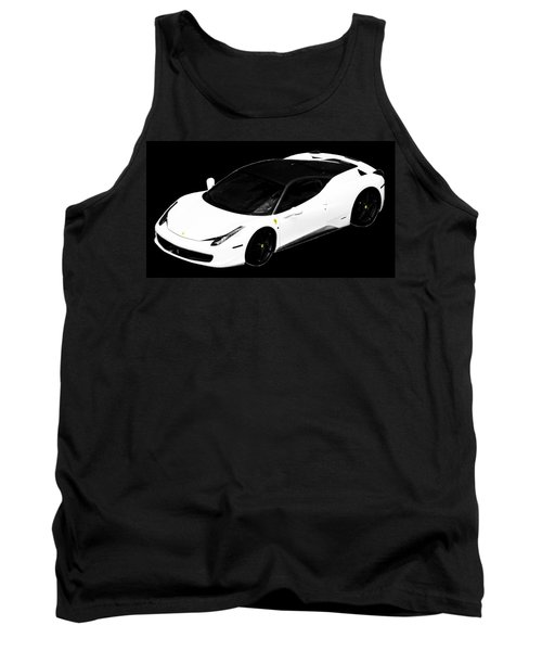 Ferrari Tank Top by J Anthony