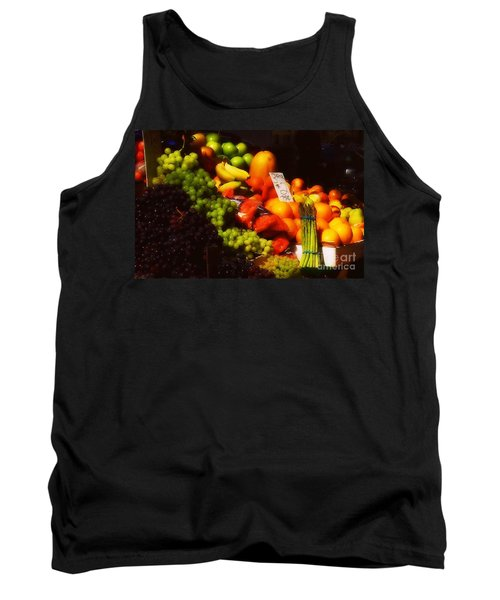 Tank Top featuring the photograph 3 For 2 Dollars by Miriam Danar