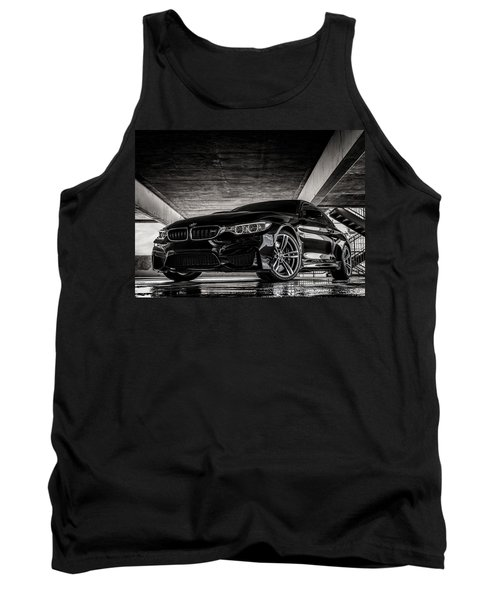 I Take Mine Black Tank Top by Douglas Pittman