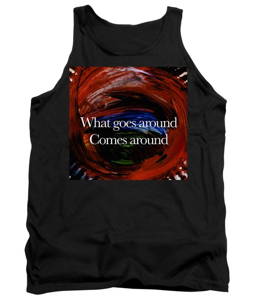 Tank Top featuring the painting Inspirational  Saying by Joan Reese