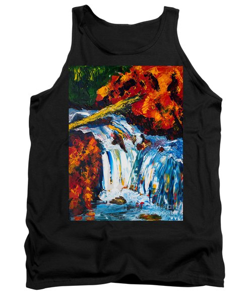 Log And Waterfall Tank Top