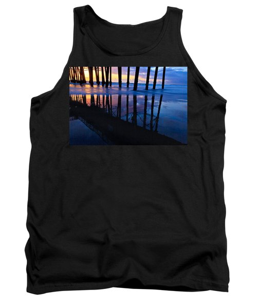 Oceanside Pier At Sunset Tank Top