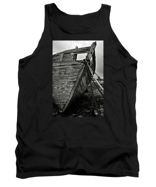 Old Abandoned Ship Tank Top by RicardMN Photography