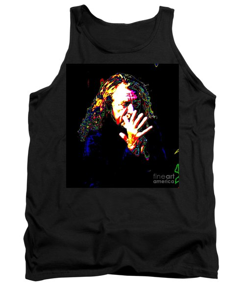 Robert Plant Tank Top by Angela Murray