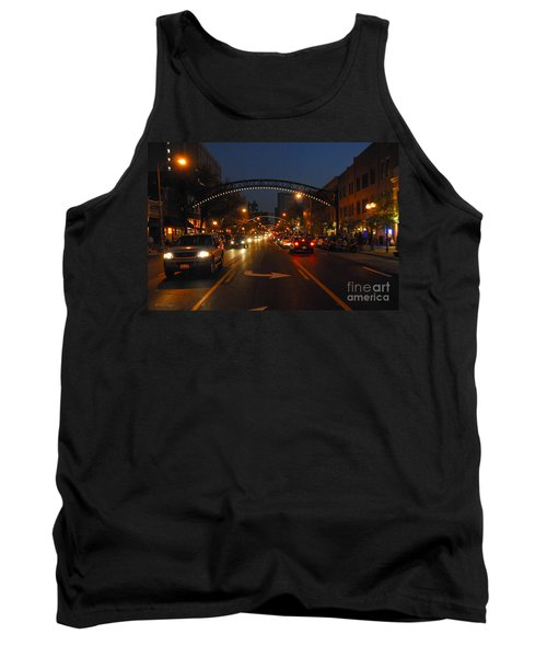 D8l-152 Short North Gallery Hop Photo Tank Top