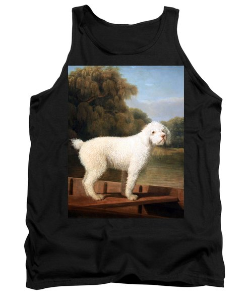 Stubbs' White Poodle In A Punt Tank Top