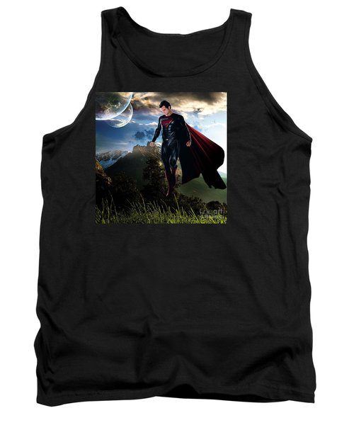 Superman Tank Top by Marvin Blaine