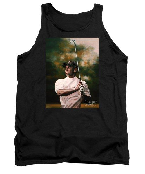 Tiger Woods  Tank Top