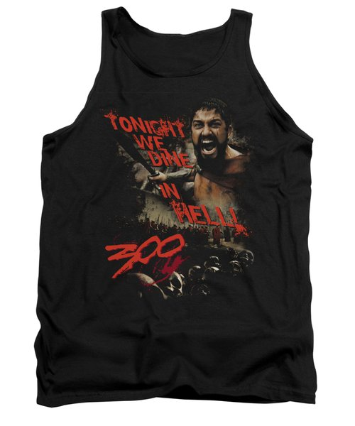 300 - Dine In Hell Tank Top