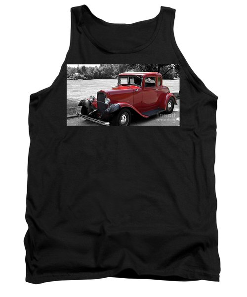 32 Ford Coupe Charmer Tank Top