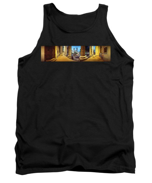 360 Degree View Of The Notre Dame De Tank Top