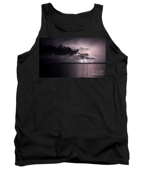 4 Bolts Over Captiva Island Tank Top