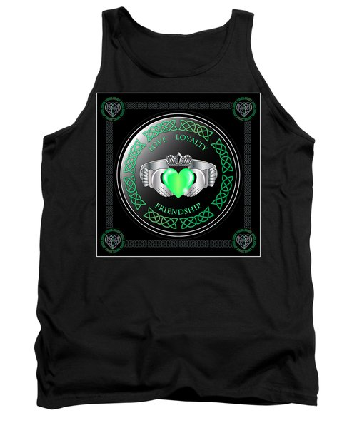 Claddagh Ring Tank Top