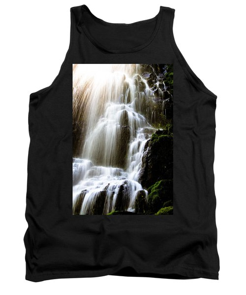 Tank Top featuring the photograph Fairy Falls by Patricia Babbitt