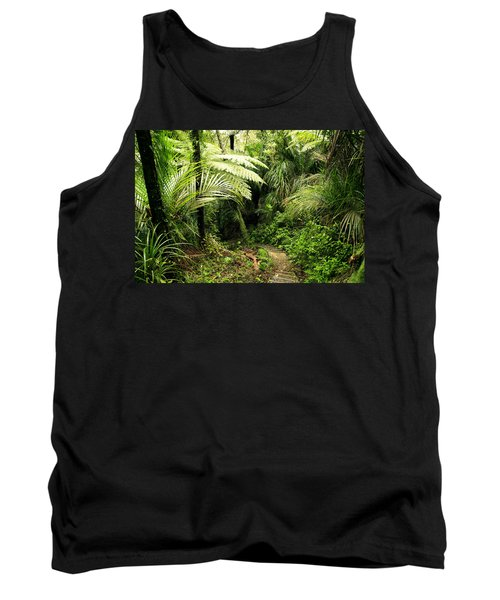 Forest Tank Top by Les Cunliffe